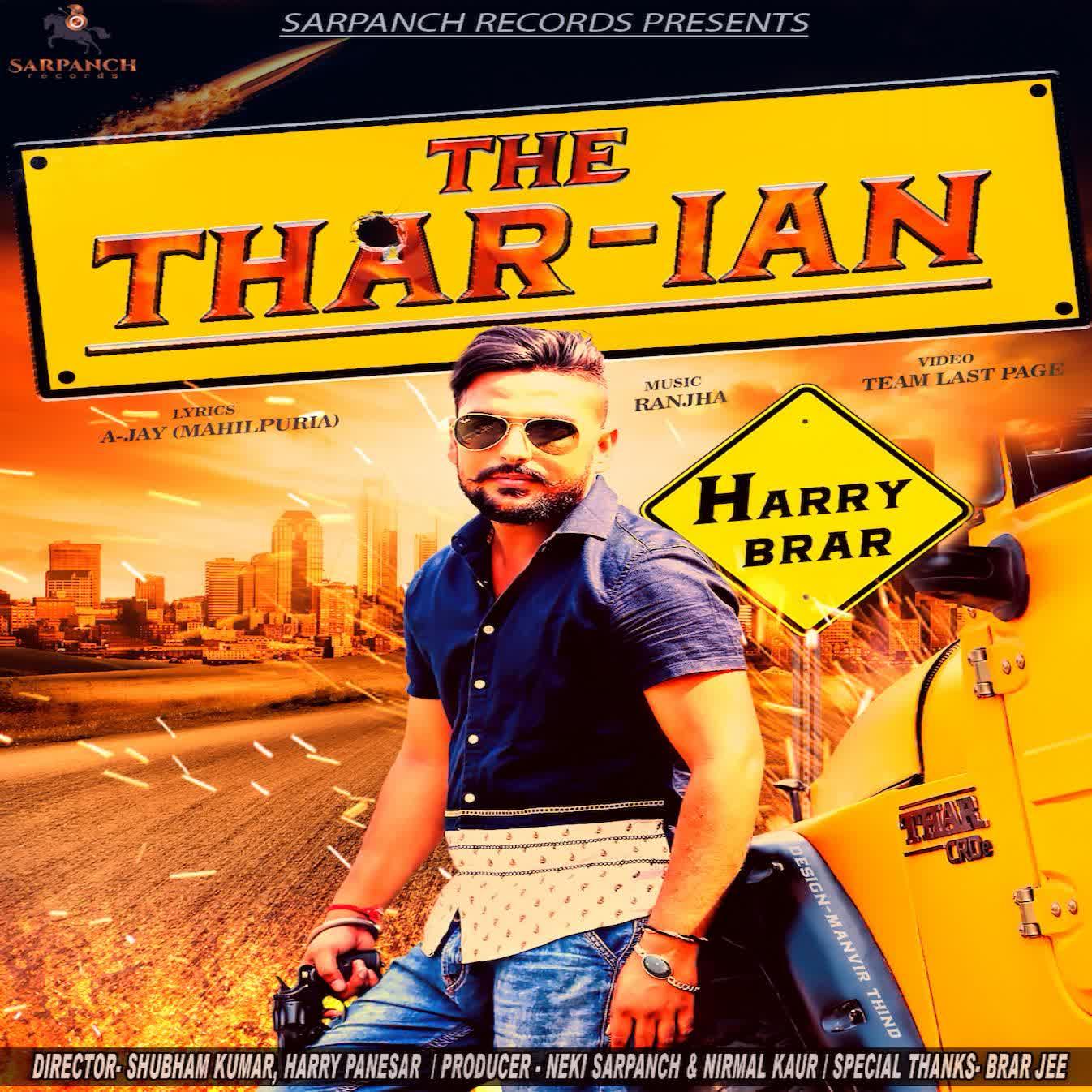 The Thar-Ian Harry Brar Mp3 Song