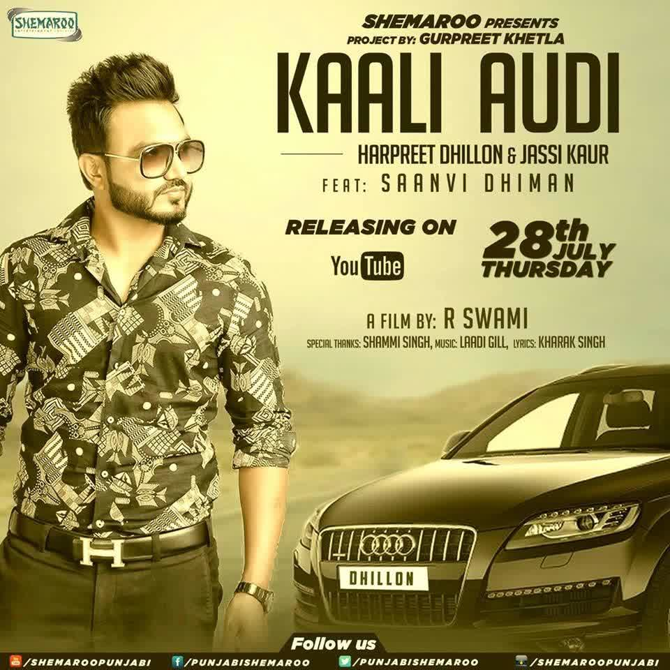 Kali audi by harpreet dhillon lyrics 1