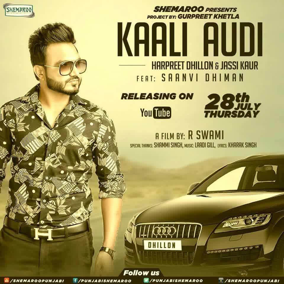 Kaali audi harpreet lyrics