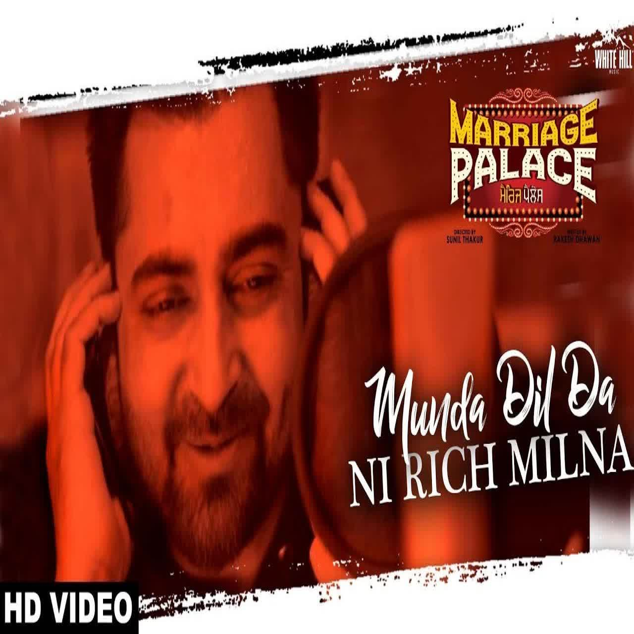 Munda Dil Da Ni Rich Milna Sharry Mann