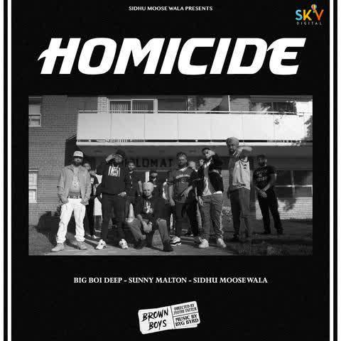 Homicide Sidhu Moose Wala